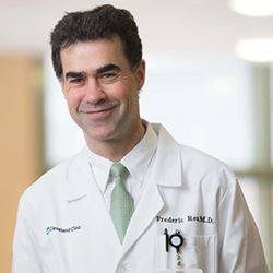 Frederic Reu, M.D., Medical Oncologist, Cleveland Clinic Foundation