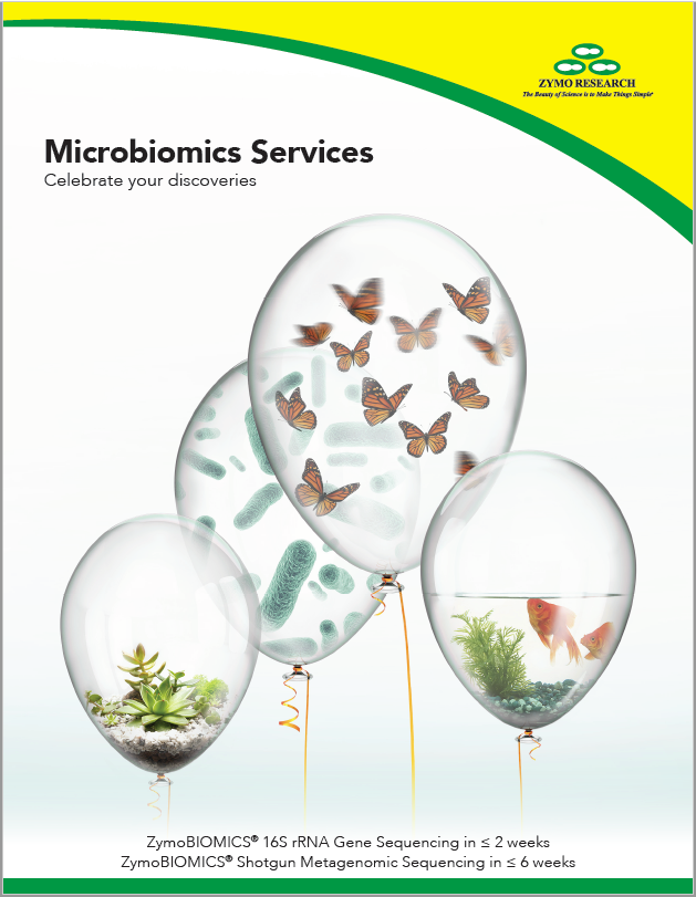 various balloons filled with plants, fish,cells, and butterflys