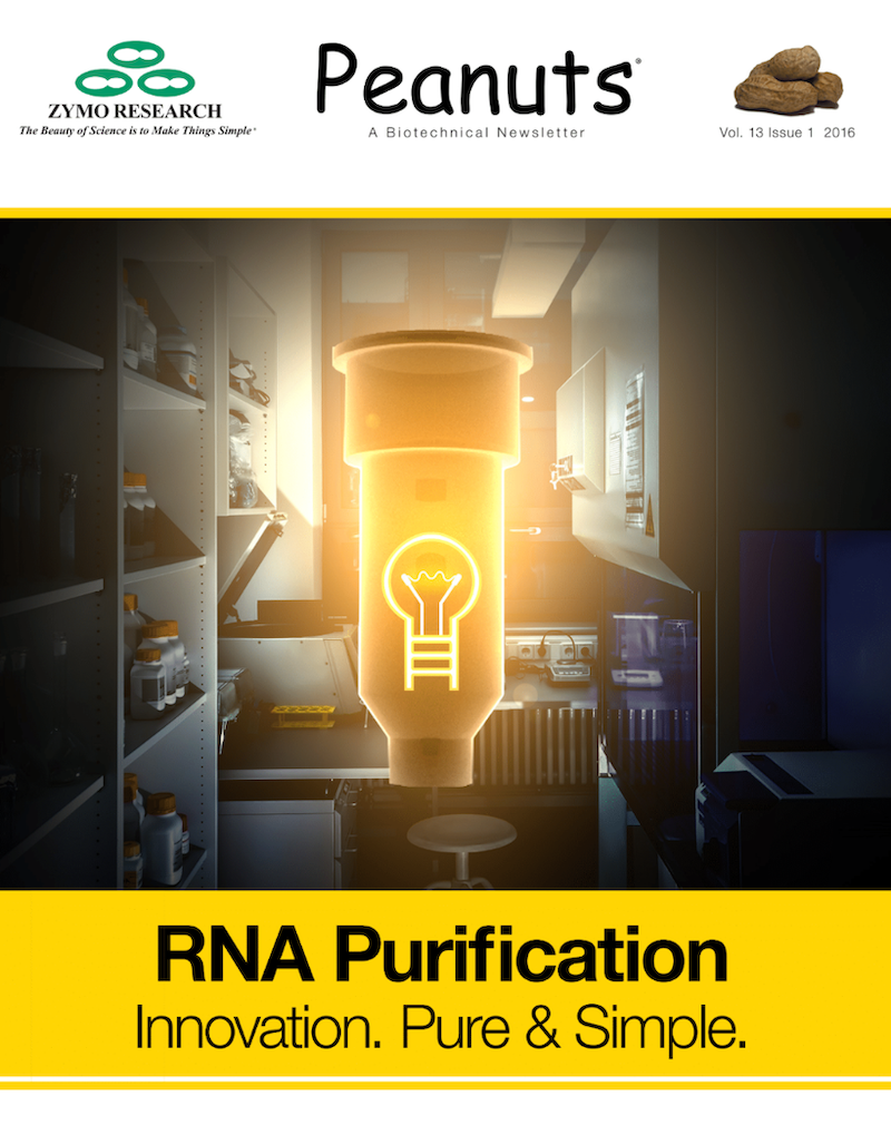 Peanuts RNA purification Cover