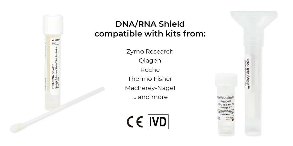 List of companies that DNA/RNA Shield is compatible with