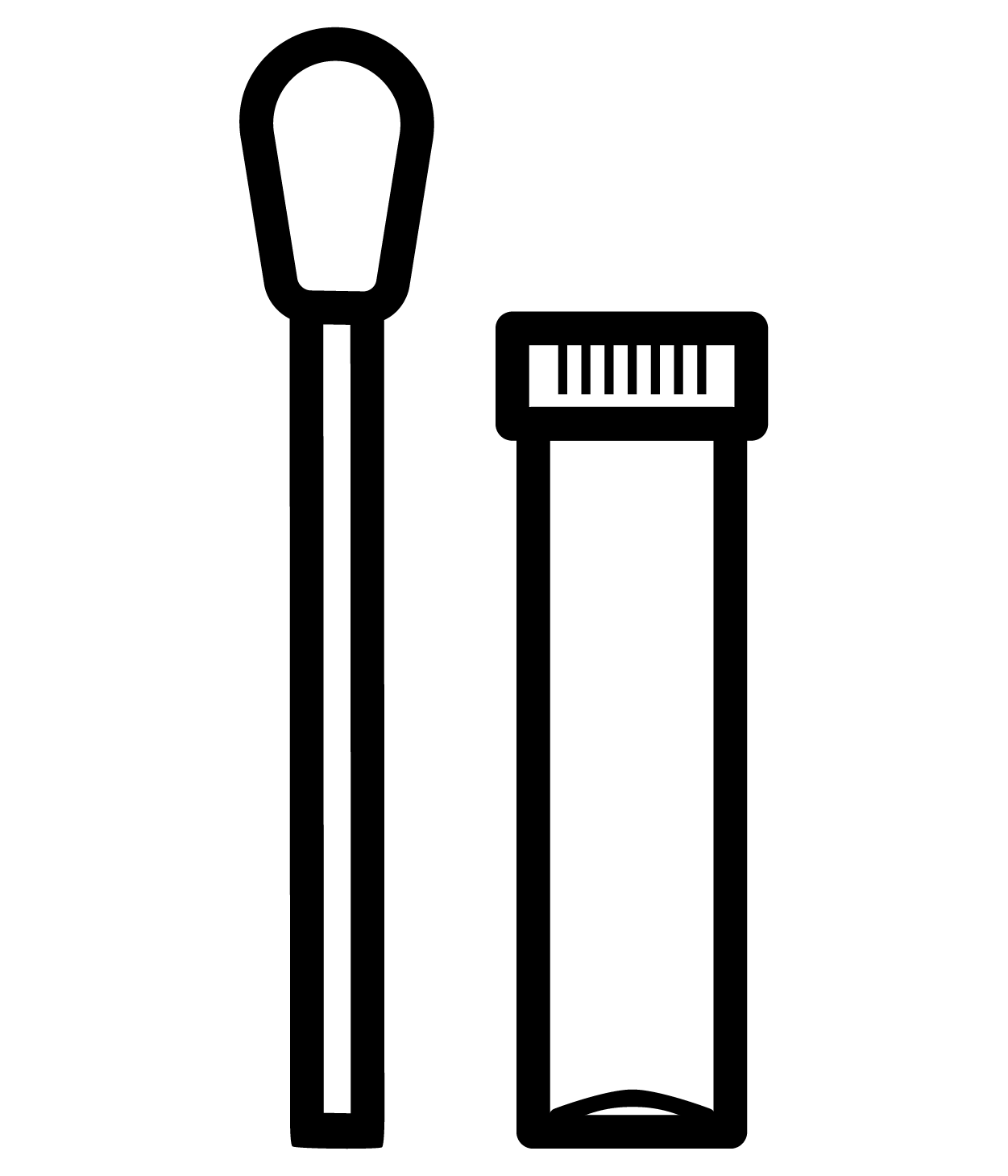 Amient Temperature Icon for Swabs