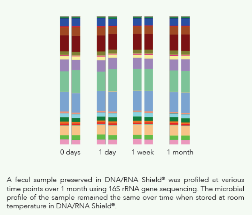 Microbiome Fecal Sample graph