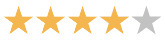 4 review stars