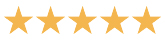5 review stars