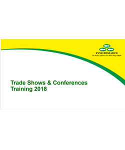 trade show and conference training