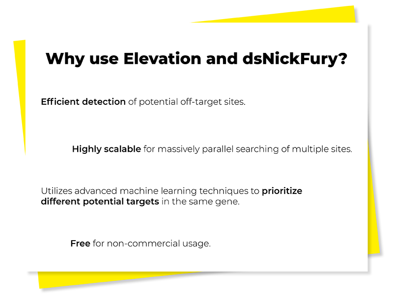why use elevation and dsNickFury