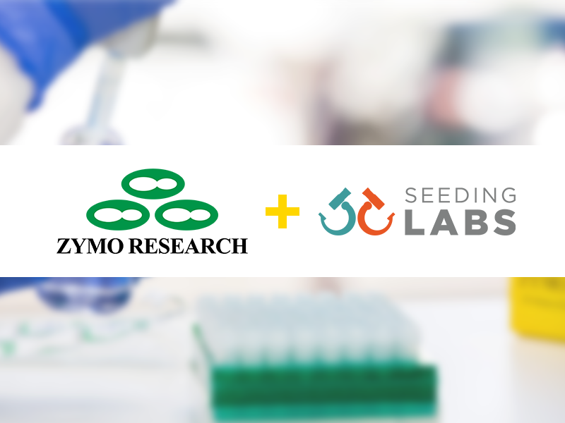 Zymo Research plus seeding labs