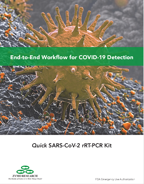 SARS CoV-2 from Zymo Research cover
