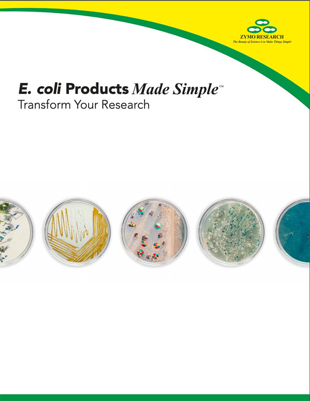 e. coli products made simple.