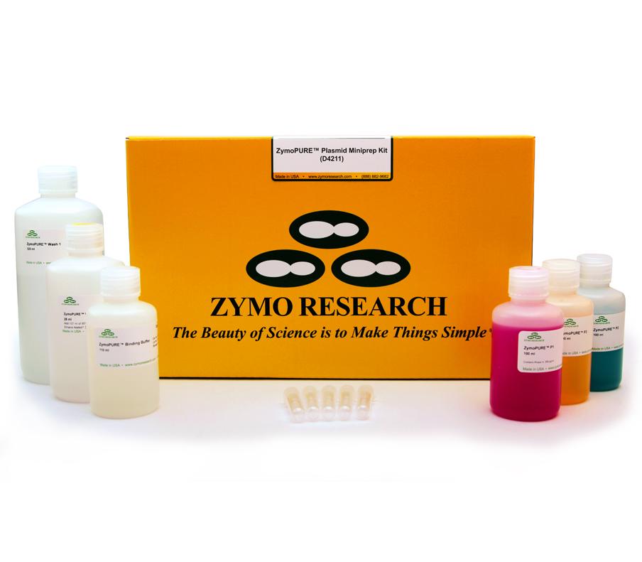 ZymoPURE Plasmid MiniPrep Kit (400 Preps)