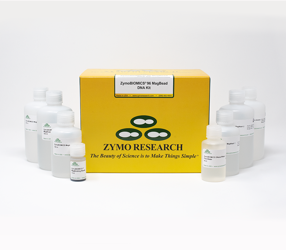ZymoBIOMICS-96 Magbead DNA Kit (lysis Matrix Not Included) (2 x 96 preps)
